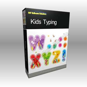 Kids Childrens Typing Tutor Educational Software PC CD