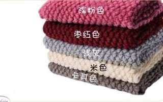 Korean Fashion Lovely Bubble Corn Dot Knitting Wool Circle Scarf Neck