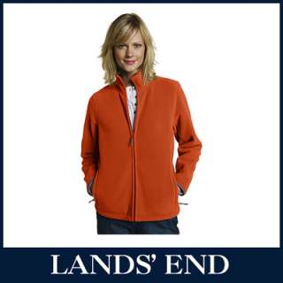 LANDS END Damen ThermaCheck 200 Jacke Fleece *Sale*