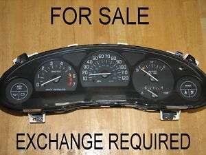 FOR SALE REBUILT GM BUICK REGAL INSTRUMENT GAUGE DASH SPEEDOMETER