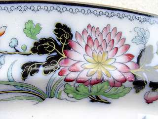 AMAZING ANTIQUE CHINESE STYLE PORCELAIN CHARGER plate PLATTER