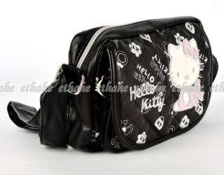 HelloKitty Mini Crossbody Messenger Bag Black E1GEL9
