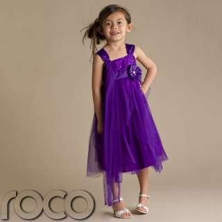 Dress Purple Flower Girl Dresses Prom Dress Bridesmaid Dress 1 13yrs