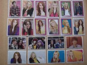 Panini Hannah Montana Forever 50 Sticker Aussuchen