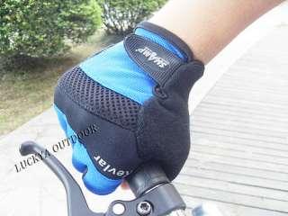 Bicycle Half Finger Gloves Padded Mesh bike Glove XL