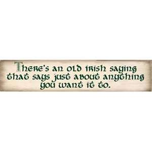 OLD IRISH SAYING DECORATIVE WOODEN WALL SIGN   NEW 638190091388