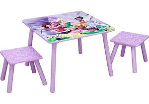 Disney Fairies Tinkerbell Table and 2 Stools Set