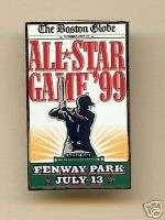1999 MLB All Star Game Baseball Collector Pin Red Sox