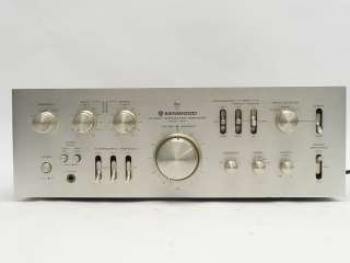 VINTAGE KENWOOD MODEL 600 130WPC STEREO INTEGRATED POWER AMP AMPLIFIER