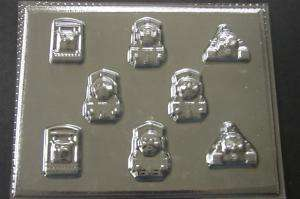 THOMAS The TRAIN TANK Friends Chocolate Candy Soap Mold