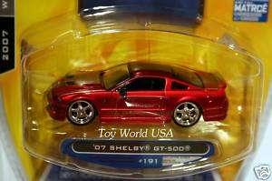 2007 JADA Dub City #191 07 Shelby Mustang GT 500