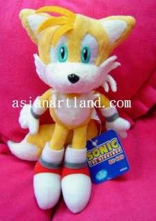 Sonic The Hedgehog Tails Plush Doll By Sega