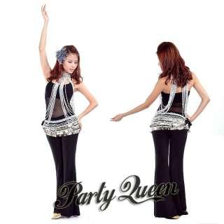 Sexy BELLY DANCE Bead Top Dress Lengthen Long Necklace