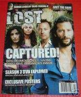 LOST OFFICIAL Magazine # 14 Jan/Feb 2008 CAPTURED