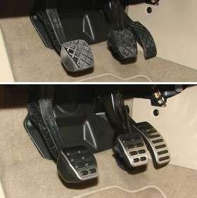 Pedale Pedalkappen Audi TT A3 VW Golf Seat Leon Ibiza *