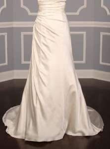 AUTHENTIC Badgley Mischka Elise Silk Sleeveless Bridal Wedding Dress