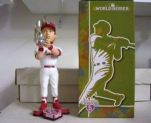 Set of 16 St. Louis Cardinals 2011 WORLD SERIES Bobble Bobbleheads Lot