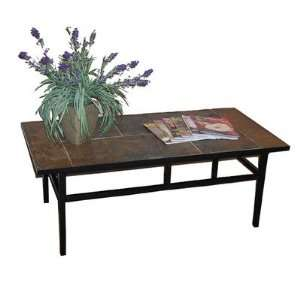 4D Concepts 601634 Coffee Table w/ Slate Top