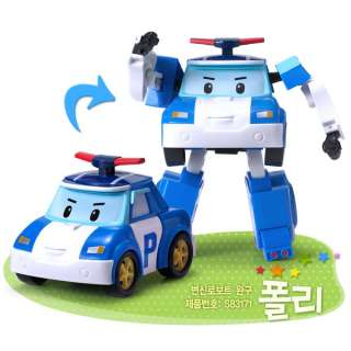 Robocar Poli Transforming Robot Korean animation academy toy