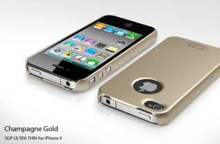 SGP Etui coque pour Apple Iphone 4 coloris divers