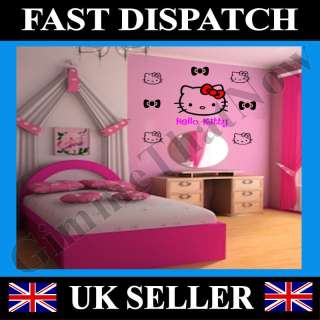 Hello Kitty Wall Art Decoration Stickers   26pcs   Set2