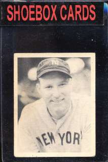 1939 Play Ball 3 Red Ruffing YANKEES VG/EX