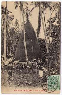 es   CPA Nouvelle CALEDONIE Ethnologie Tribu de Gélima