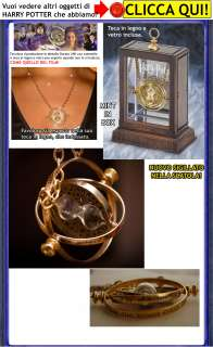 Harry Potter GIRATEMPO di HERMIONE Time Turner 24K