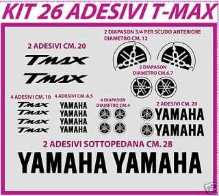 ADESIVI KIT TMAX T MAX 26 ADESIVI STICKERS TMAX DECAL