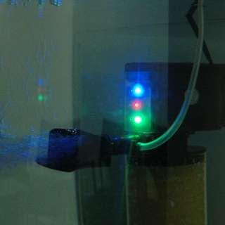 LED Light 3en1 Multifonction Bio Filtre POMPE 1500L/H pr Poisson
