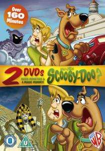 WHATS NEW SCOOBY DOO MOVIE MONSTERS/A MAGIC MUMMY DVD 5051892050531