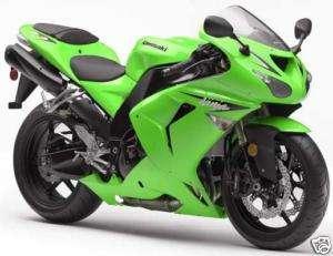 500ml Kawasaki Bright Green 2K 2 Pack Ninja Bike Paint