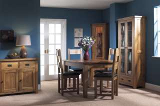 Chunky Rustic Solid Oak Sideboard Dining Room Furniture