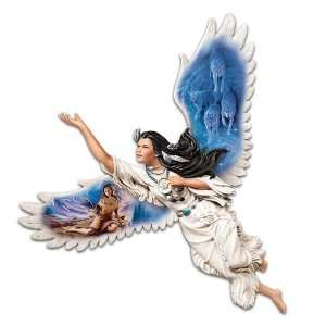 Dream Weaver Angel Wall Decor by The Bradford Exchange