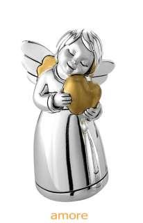 con decoro oro collezione arde linea i love angel fornito con scatola