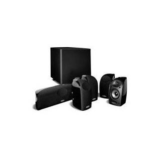 Polk Audio TL1600 Speaker System (Set of Six, Black)