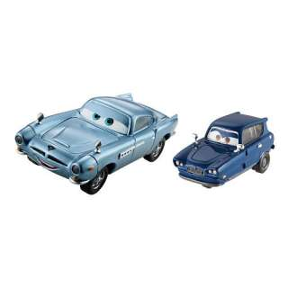 Disney Pixar Cars 2 Vehicle 2 Pack   Finn McMissile and Tomber   FAO