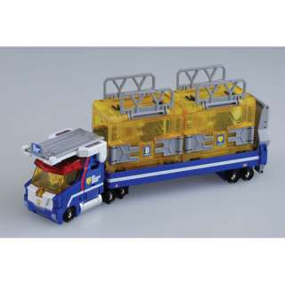 Tomy 791072 Tomica Hyper Blue Police Container Carrier Car