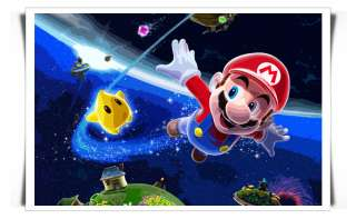 SUPER MARIO CANVAS PRINT ART VIDEO GAME KIDS CARTOON