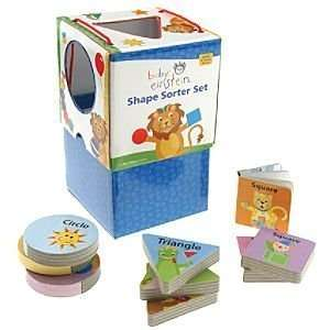 Disney Baby Einstein Shape Sorter Set Book : Toys & Games :