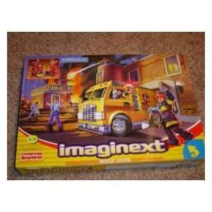 Imaginext Rescue Center [Toy] Toys & Games