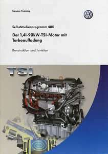 SSP 405 VW TIGUAN Motor 1,4l 90kW TSI Handbuch CAXA  