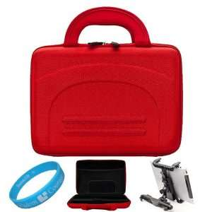 Red Cube Series Shell Hard Carrying case for Samsung