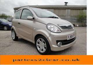 MICROCAR M GO MGO SXI 4 SEAT AUTO CVT AIXAM RELIANT A1 CONDITION GOLD