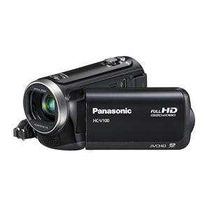 Panasonic HC V100 HD Camcorder   Black   Camcorders   Jessops