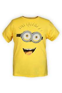Despicable Me Minion Face T Shirt   130401