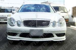 PAINTED Mercedes Benz W211 E55 Carson Front Lip Spoiler
