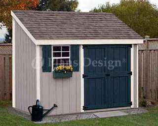 10 Lean to Shed Plans, #10410