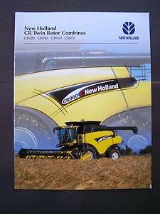 New Holland CR920 CR940 CR960 CR970 Combines Brochure