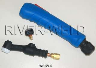 WP 9V Valve TIG welding torch body SR 9V AIR Cooled o style